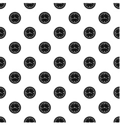 clock design pattern seamless vector image