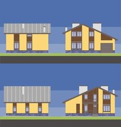 Home V vector image