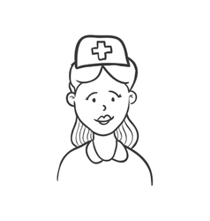 Nurse icon Medical and Health care design vector