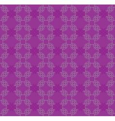 Purple flourish pattern vector image