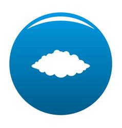 Storm icon blue vector