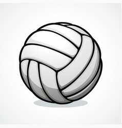 volleyball ball icon design vector image