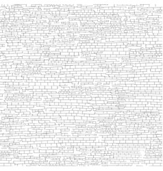 Ancient brick wall background shabby brick wall vector