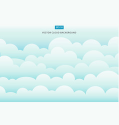 cloud scape background vector image