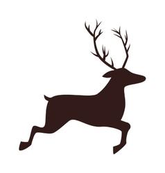 deer wildlife animal vector image