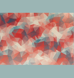 flat pastel colors polygonal background vector image