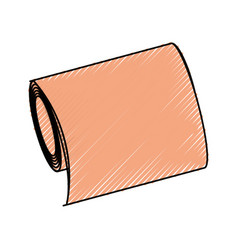 Medical aid bandage vector