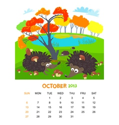 October vector