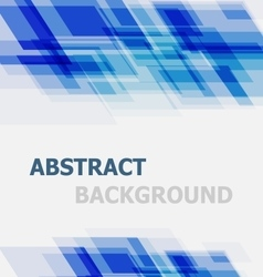 Abstract blue geometric overlapping background vector image