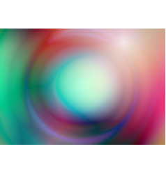 abstract colors with circle blurred background vector image