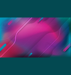 abstract fluid shapes composition gradient vector image