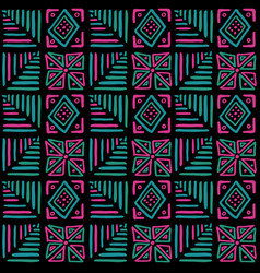 african vibes seamless pattern in ethnic tribal vector image