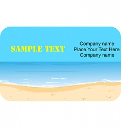 business card graphic vector image
