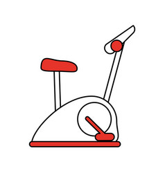 exercise equipment icon image vector image