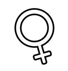 Female gender iocn vector