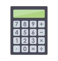 Mathematics business calculator technology vector image