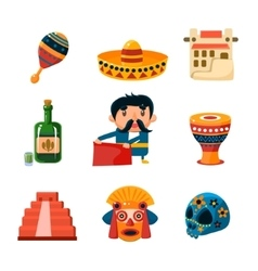 National Mexical Objects vector