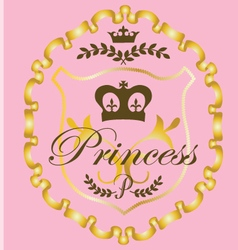 Princess graphic vector
