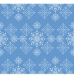 Snowflakes ornament vector image