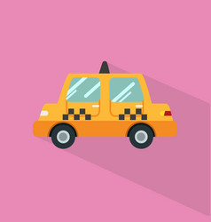 taxi icon set of great flat icons with style vector image