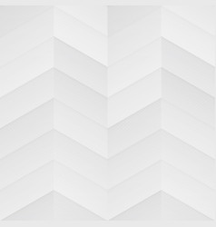 white zigzag seamless pattern vector image