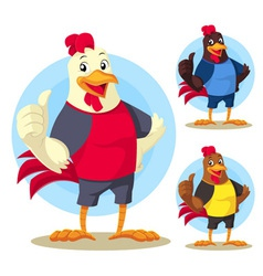 The Rooster vector image vector image