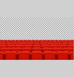 rows of cinema vector image