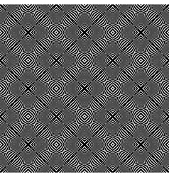 Seamless checked pattern vector image vector image