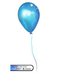 Blue air balloon eps10 vector