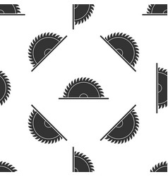 circular saw blade seamless pattern saw wheel vector image