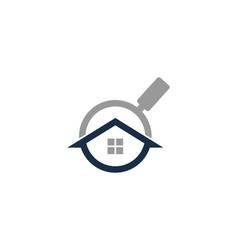 find house logo icon design vector image