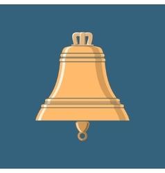 Gold Bell Ship Equipment vector