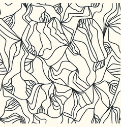 irregular lines drawn by hand vector image