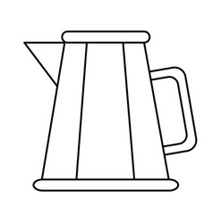 kitche kettle isolated vector image