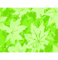 Leaf grunge vector
