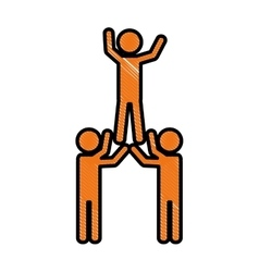 People and teamwork design vector