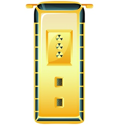 Radiocative door vector