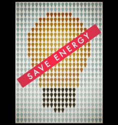 save energy vector image vector image