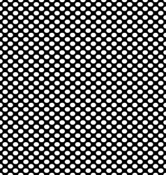 Seamless with white dots vector image