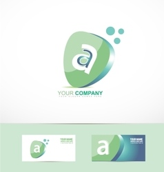 Small letter a logo vector image