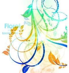 Soft Floral Background vector image