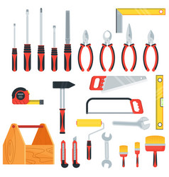 tools for repair and construction vector image
