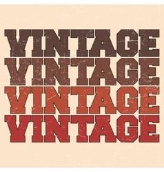 Varsity vintage stamp vector