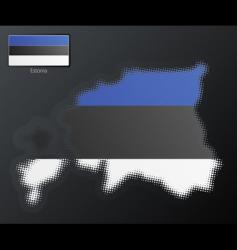 Estonia design vector image