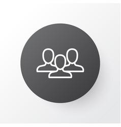 Staff icon symbol premium quality isolated unity vector