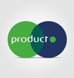 biology logo vector image vector image