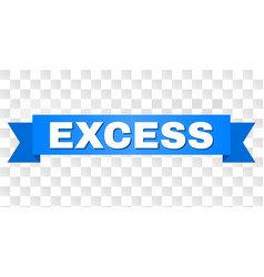 Blue stripe with excess title vector