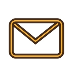 Email or mailing isolated icon design vector image