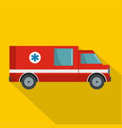 first aid icon flat style vector image