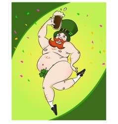 st patric party vector image